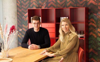 Video-Interview für meinen Kunden pro office Düsseldorf mit Julian Römer von Vitra